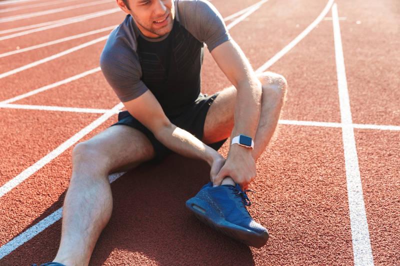 fracture de contrainte de la cheville chez le sportif